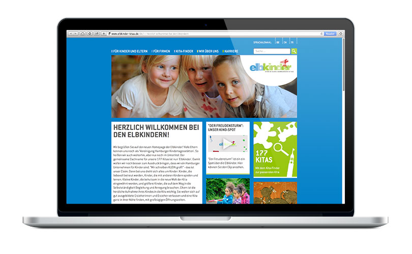 Elbkinder Website