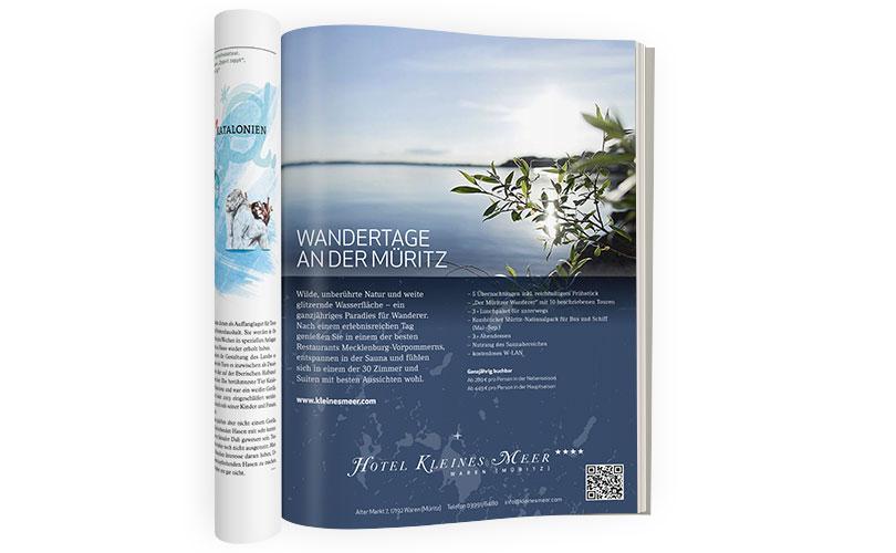 Hotel Kleines Meer – Anzeige
