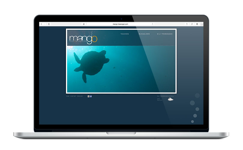 Mango Dive & Bungalow – Website