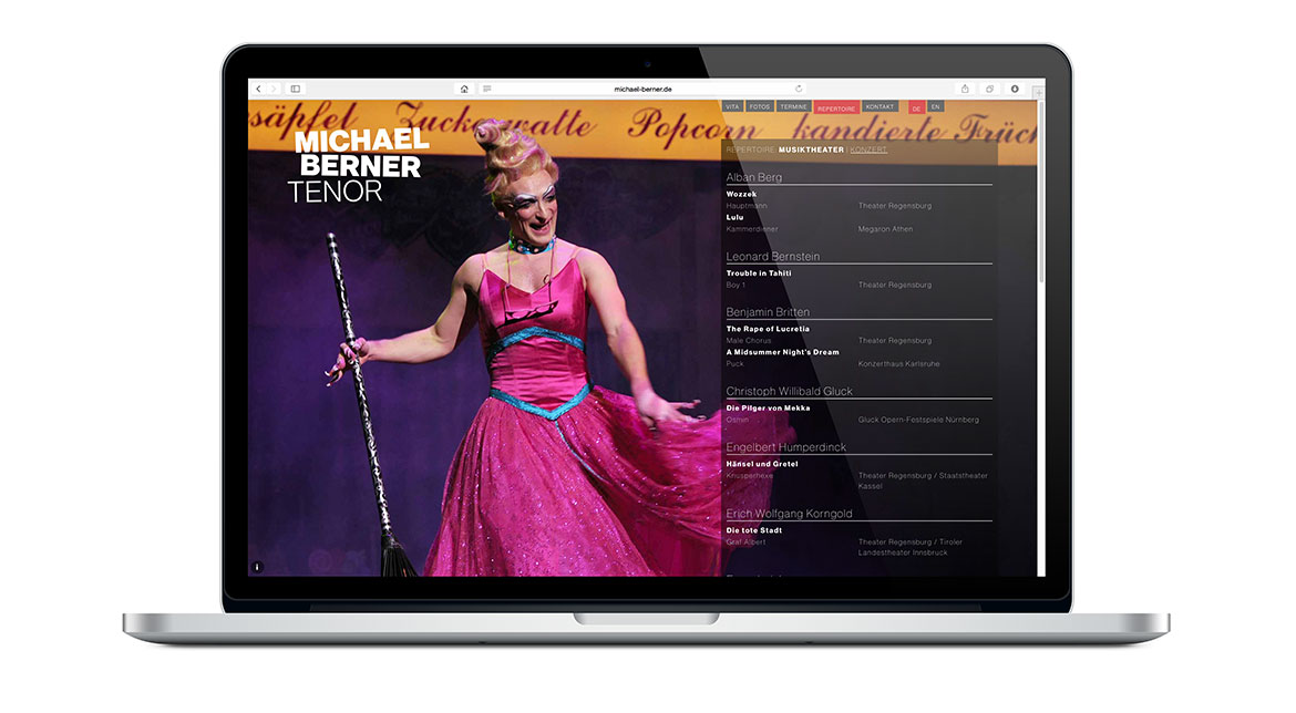 Michael Berner Website