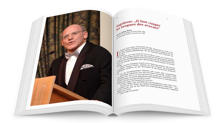 Berliner Anwaltsverein – Festschrift