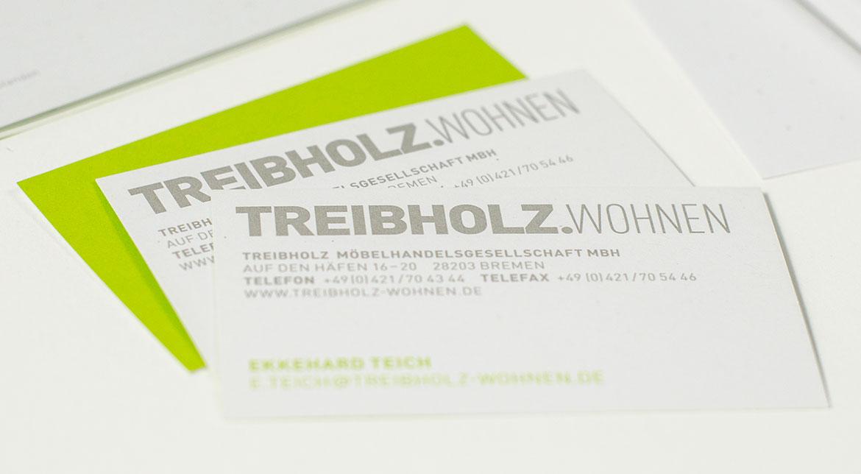 Treibholz –Visitenkarten