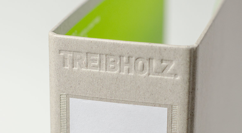 Treibholz – Ordner, Prägung