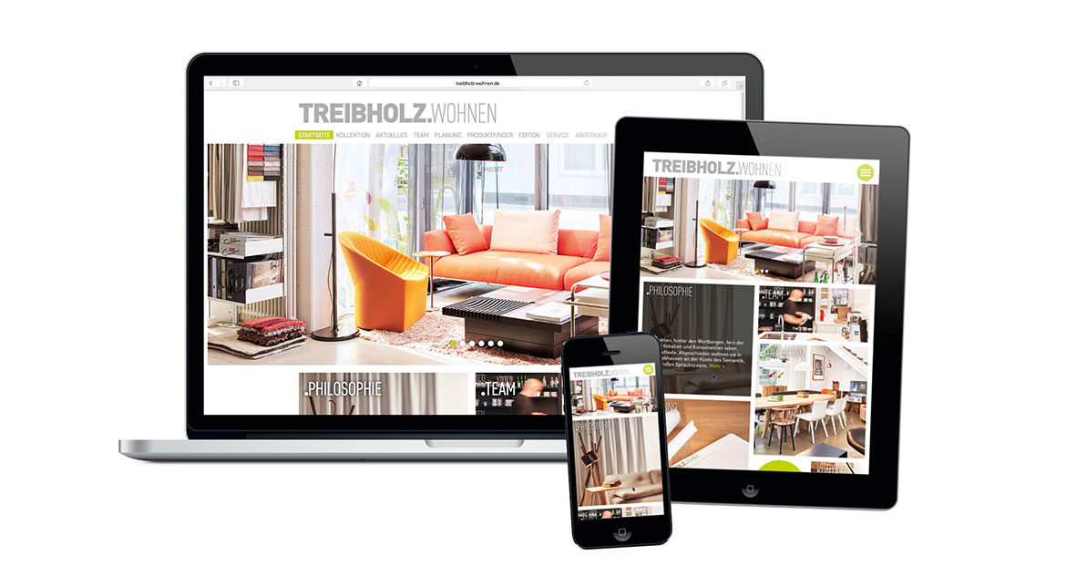 Treibholz – Website